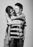 Best friends Royalty Free Stock Images