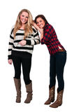 Best Friends. Couple of beautiful young women who are the best of friends Stock Photos