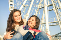 Best friends enjoying time together Stock Photo