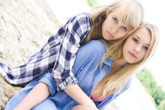Best Friends Forever Royalty Free Stock Images
