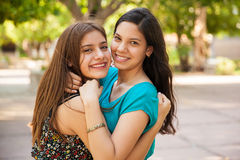 Best friends forever Stock Photos