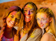 A colored day Stock Photography