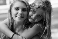 Best Friends, Girls, Friendship Royalty Free Stock Photo