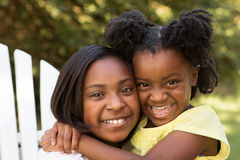 Best friends. Happy little girls. Stock Images
