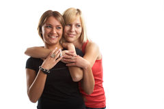 Best Friends Having Fun Stock Images
