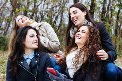 Best friends having a good time Royalty Free Stock Images