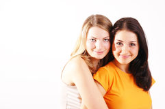 Best friends portrait Royalty Free Stock Photography