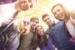 Best friends in summer time Royalty Free Stock Photography