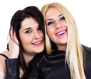 Best friends together forever Royalty Free Stock Photo
