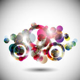 Best futuristic, vector abstract background Stock Images