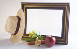 For the best gardener frame. Raw for the photo Royalty Free Stock Photography