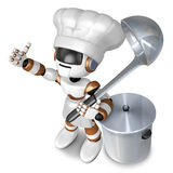 Is the best gesture of a chef. 3D Chef Character Stock Photography