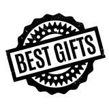 Best Gifts rubber stamp Stock Photography