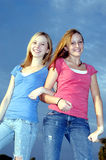 Best girlfriends Royalty Free Stock Images