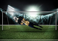 Best goalkeeper Stock Photo
