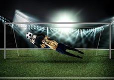 Best goalkeeper Stock Photo
