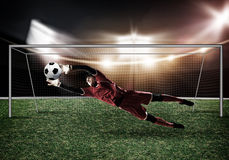 Best goalkeeper Stock Images