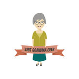 Best grandmother ever Royalty Free Stock Images