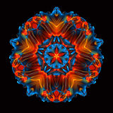 Best Great Kaleidoscope Red Rock Large royalty free illustration