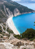 Best greek beach, Myrthos Stock Photo