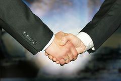 Best Handshake Stock Photo