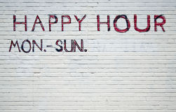 The best happy hour Royalty Free Stock Photo