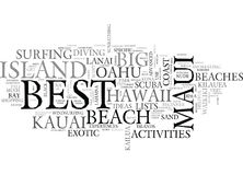 Best Of Hawaii Itinerary Ideas For The Travelerword Cloud. BEST OF HAWAII ITINERARY IDEAS FOR THE TRAVELER TEXT WORD CLOUD CONCEPT Royalty Free Stock Photo