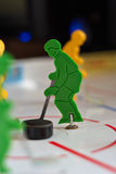 Best Hockey player. On championship Stock Photo