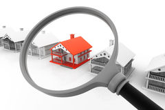 Best House search Royalty Free Stock Image