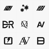 The best icon logo set for your business. For your Business Stock Image