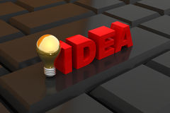 Best idea concept Royalty Free Stock Images