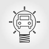 best idea icon  design Stock Photography