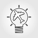 best idea icon  design Royalty Free Stock Photo