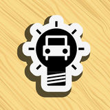best idea icon  design Royalty Free Stock Images