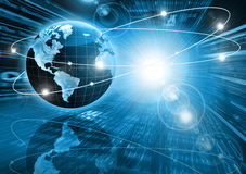 Best Internet Concept of global business from conc Stock Photography