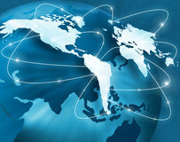 Best Internet Concept of global business from conc Stock Images