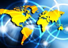 Best Internet Concept of global business from conc Royalty Free Stock Photography