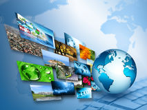 Best Internet Concept of global business from concepts series Stock Photos