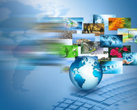 Best Internet Concept of global business from concepts series Stock Photography