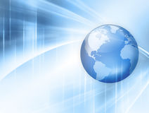 Best Internet Concept of global business. Globe Royalty Free Stock Image