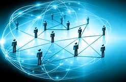 Best Internet Concept of global business.Technological background, symbols Wi-Fi, of the Internet, television, mobile. Best Internet Concept of global business Stock Image