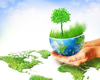 Best Internet and Environmental energy concept Stock Photos