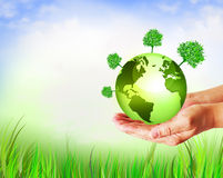 Best Internet and Environmental energy concept Stock Photography