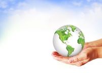 Best Internet and Environmental energy concept Royalty Free Stock Image