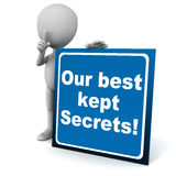 Best kept secrets Stock Image