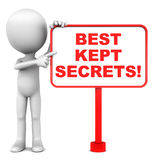 Best kept secrets Royalty Free Stock Photos