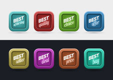 Best Label set Stock Images