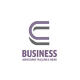 Best letter C logo concept Stock Image