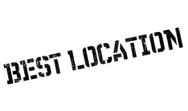 Best Location rubber stamp Royalty Free Stock Photo