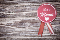Best Mama mothers day or baby shower Royalty Free Stock Image